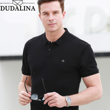 Dudalina 2019 Brand Polo Shirt Men High Quality New Men's Polo Shirts Business Men's Clothing Embroidery Homme