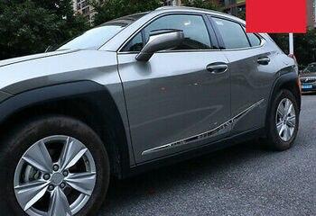 Chrome Side Door Body Molding Cover Trim 4pcs For Lexus UX UX200 UX250h 18 - 19