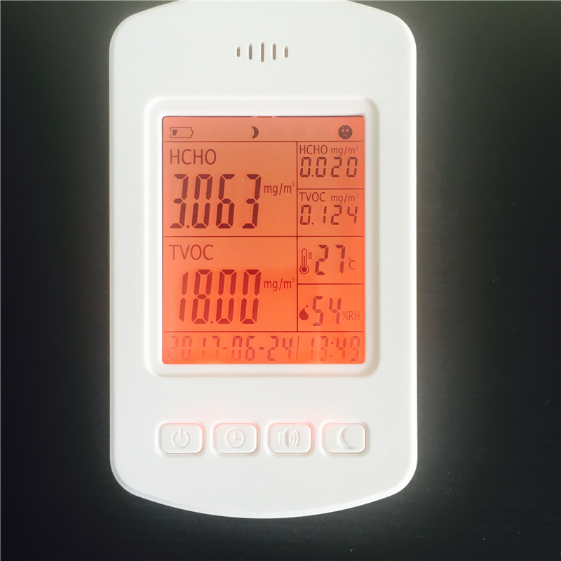 air quality monitor tvoc hcho pm