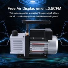 3.5CFM 1/3HP High Power Single Stage 5 Pa Vacuum Pump For Re
