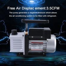 3.5CFM 1/3HP высокое мощность один этап 5 Pa вакуумный насос для блок охладителя с вентиляторами системы ЕС Plug
