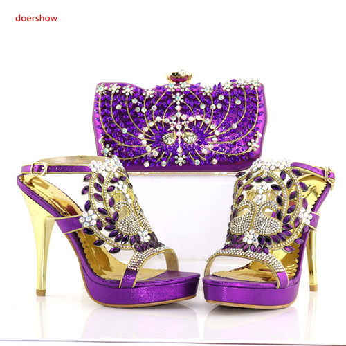 doershow Latest Design Matching Italian Shoe and Bag Set.royal Blue Wedding and Party African Shoes and Bag Set for ladyPAB1-21 нижняя гребная тяга с независимыми рычагами hasttings digger hd004 2