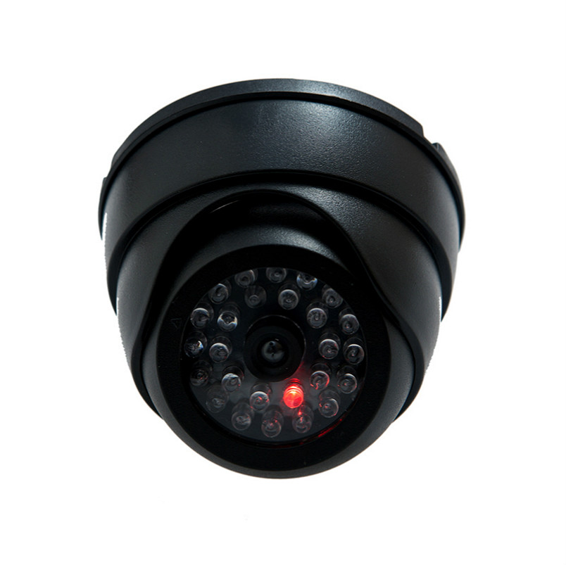 New Fake Camera Dome Dummy Camera Fake Security Camera Dome Fake CCTV Surveillance Camera with Blinking Red LED outdoor waterproof red led fake dummy ptz speed dome cctv security camera blinking flashing light dummy dome camera