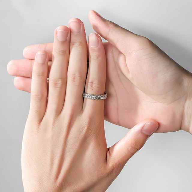 """3UMeter 2019 Новый астрономический телескоп шар кольцо для влюбленных Германия Винтаж кольцо творческий парные кольца """"любовь"""", отличный подарок для влюбленных Прямая доставка"""