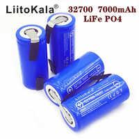 2019 LiitoKala Lii-70A 32700 lifepo4 3,2 a 7000 mAh 33A 55A de soldadura de un destornillador para bicicleta eléctrica con batería poder