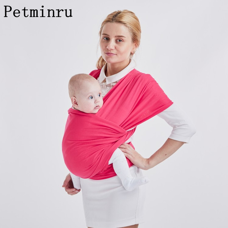 petminru Baby Carrier Sling For Newborns Soft Infant