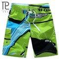 2016 HOT Roupas Quick Dry Homens Shorts Casuais Marca de Verão Geométrica Calções dos homens Board Shorts Da Praia Do Mar