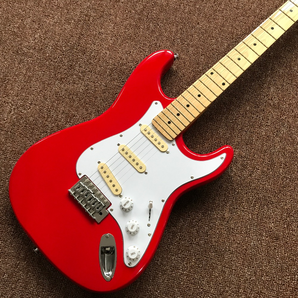 2017 Sale Chinese Electric Guitars Musical Instruments Wholesale New Fen St Custom Shop Guitar/oem Brand Color Guitar/guitar In musiclily 3ply pvc outline pickguard for fenderstrat st guitar custom
