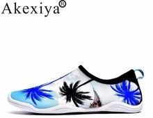Akexiya/море водные кроссовки обувь для Для мужчин и Для женщин пляж плавание Для мужчин обувь для рыбалки Дайвинг пляж Aqua болотная обувь