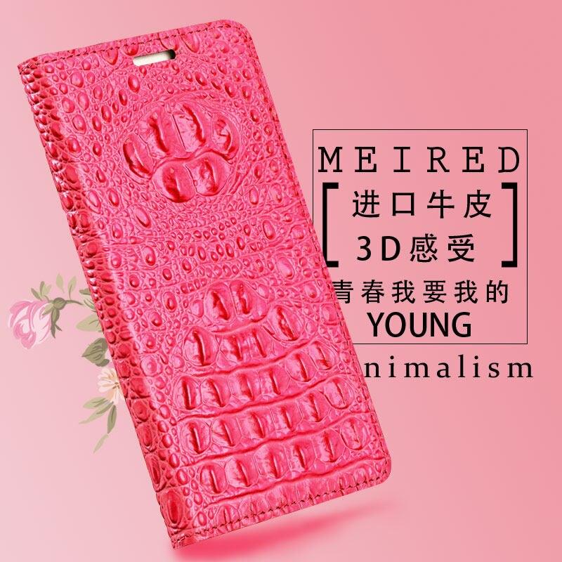 Cas de téléphone Pour Xiaomi Pocophone F1 8 Max 3 Mix 2 s A1 A2 Lite Vache Crocodile Crâne Texture Pour redmi Note 5 6 Pro Flip couverture
