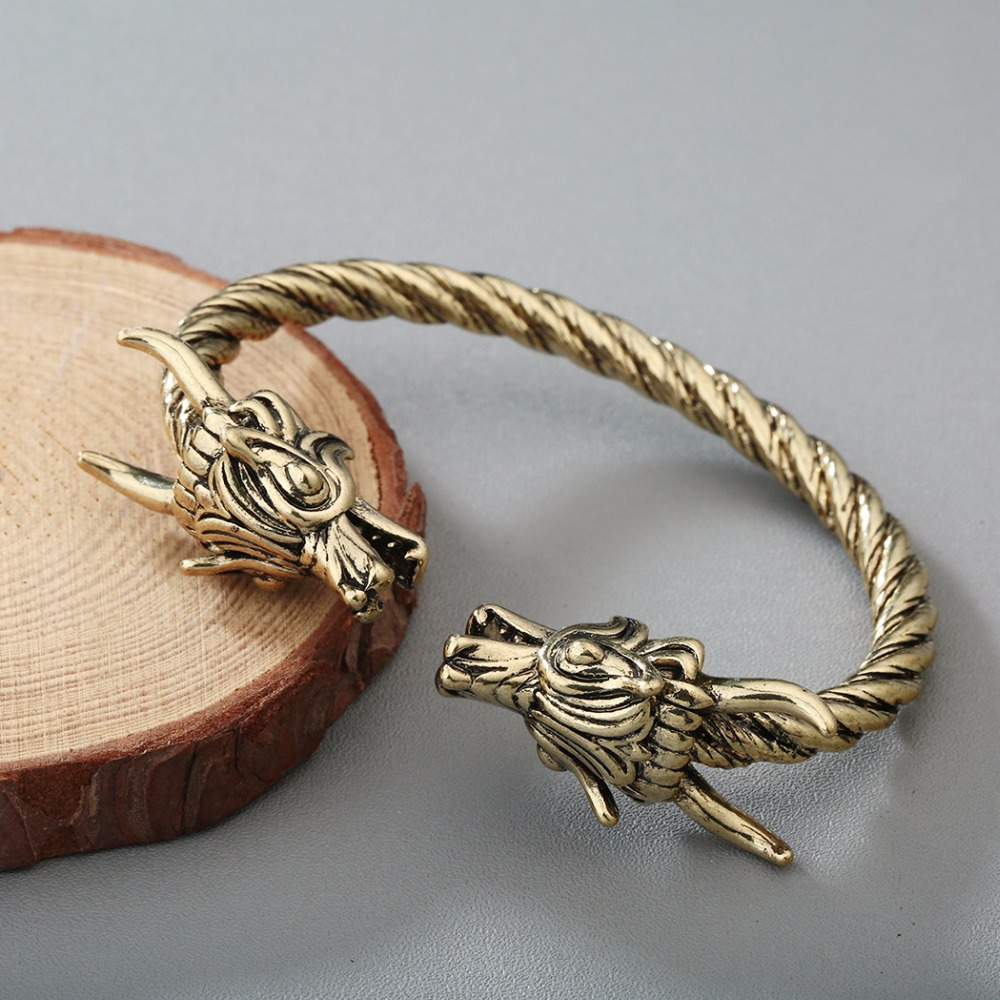 Bracelet Viking Dragon hommes 6