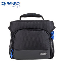 лучшая цена Benro Gamma 30II one shoulder professional camera bag slr camera bag rain cover