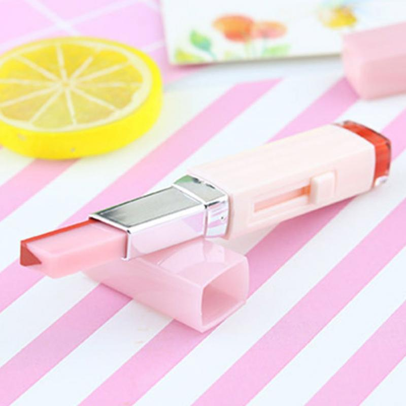 Korean Style Gradient Color Lipstick Moisturize Two Color Tint Lip Gloss long Lasting Waterproof Lip Balm Women Makeup Beauty 16