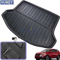 Rear Trunk Liner Cargo Boot Mat Floor Tray Protector Carpet Mud Kick Pad For KIA Sportage R 2011 2012 2013 2014 2015