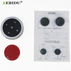 Image 4 - Kebidu אלחוטי Bluetooth מדיה שלט הגה mp3 מוסיקה לשחק עבור אנדרואיד IOS Smartphone בקרה לרכב סטיילינג