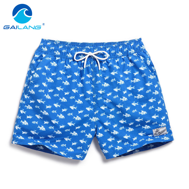 Gailang brändi meestel rannas lühikesed lühikesed püksid börbad Casual men shortsid bermuda kiire kuivatamine kampsunid Active Wear Man Short Bottoms