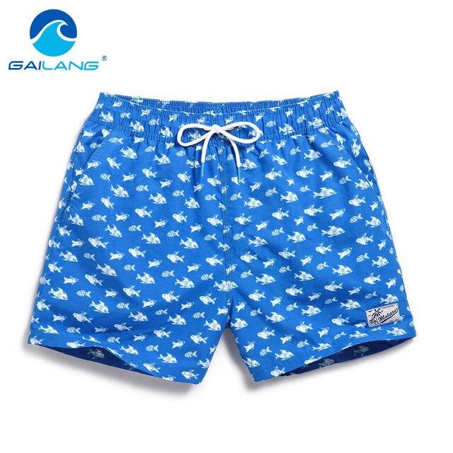 cdb36cb7f Gailang Marca Masculino calções de praia boardshorts shorts homens bermuda  de Secagem Rápida Moletom Desgaste Ativo