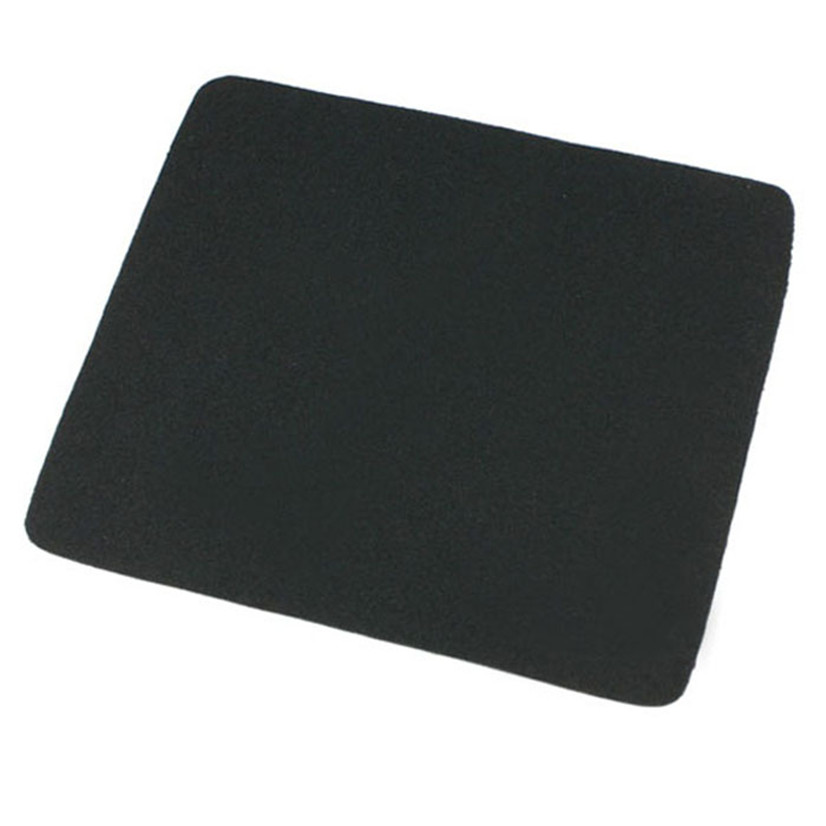 Factory price New 22*18cm Universal Mouse Pad Mat for Laptop Computer Tablet PC Black Oct17