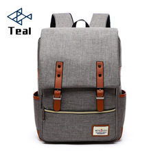 2017 new Casual fashion backpack women ang men General student Laptop bag School Oxford cloth leisure