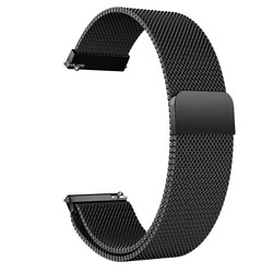 Steel Milanese Loop 22mm Wrist Strap Band for Amazfit GTR 47mm L/&6 Silver