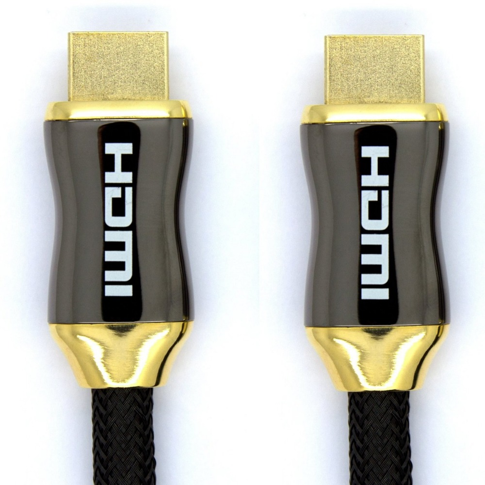 1m 2m 3m 5m 10m 15m 20m 65FT metal case HDMI Cable with Ethernet HD TV 39 s Xbox 360 PS3 Playstation 3 SkyHD Blu Ray DVD hdmi 2 0V in HDMI Cables from Consumer Electronics