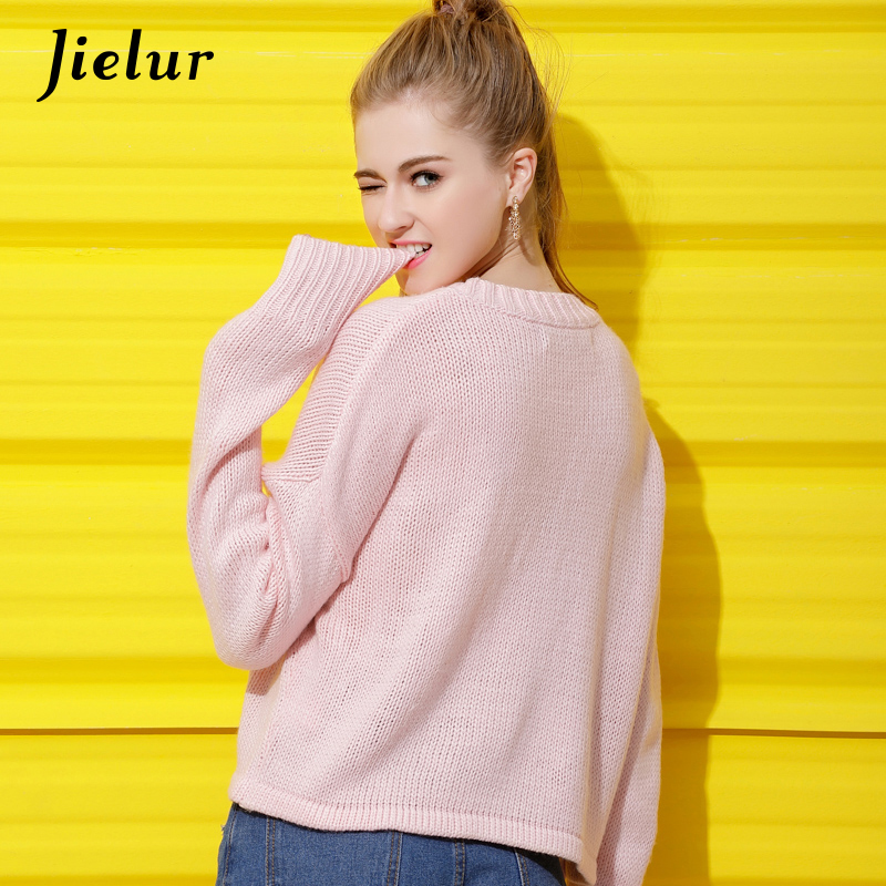 Chic New Plus Size XL 4XL Pink Women's Winter Sweaters Ladies Cute ...