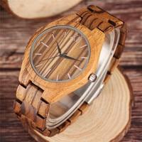 Creative Fashion Cool Wooden Bamboo Quartz Wristwatch New Arrivals Men S Wood Watch Bracelet Clasp Luxury