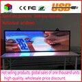 SMD3528 Full color disco flash USB Programável Levou Assinar Rolagem Placa da Mensagem LEVOU Placa de Exposição Aberta