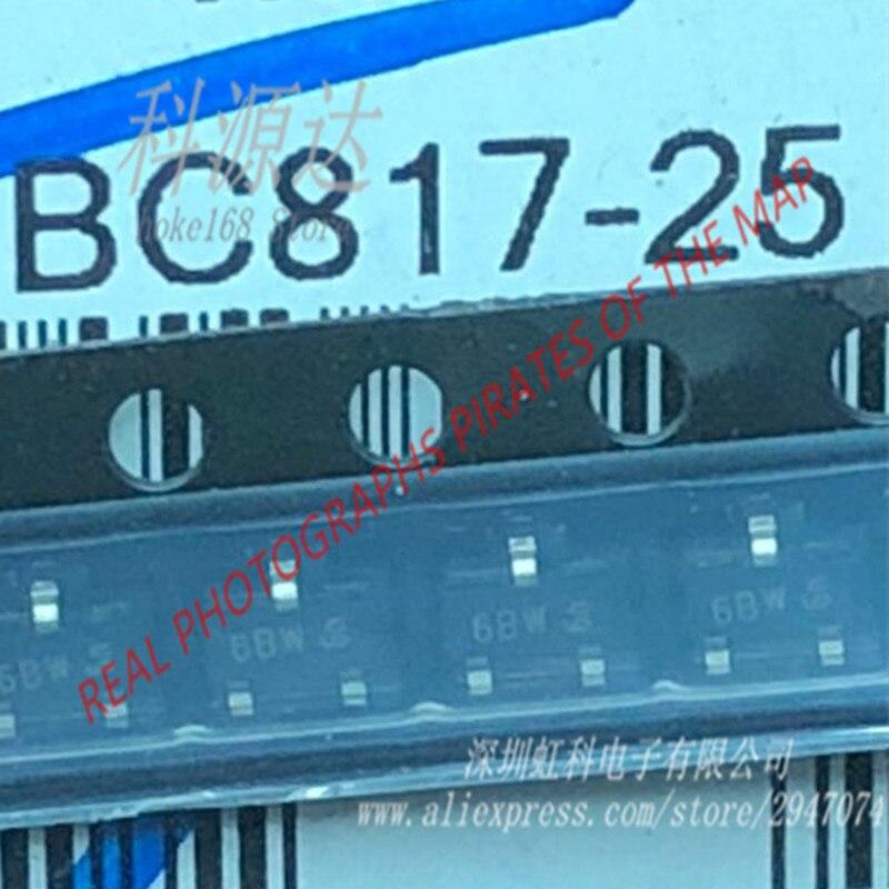 100 PCS/LOT BC817-25 6BW BC817-40 BC817 Trans NPN 45 V 0.5A sot23100 PCS/LOT BC817-25 6BW BC817-40 BC817 Trans NPN 45 V 0.5A sot23