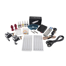 hot deal buy excellent quality dragonfly rotary tattoo machine shader & liner 5 colors assorted tatoo motor gun kits supply for artists