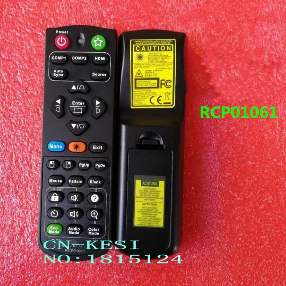 CN-KESI Replacement New and Original RCP01061 Remote Control FIT for ViewSonic Projector for e4200 desktop case 4200 f126f cn 0f126f new original