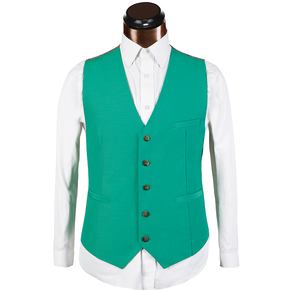 Brand 2018 New design Green Men Suit Fashion Casual Solid business ...