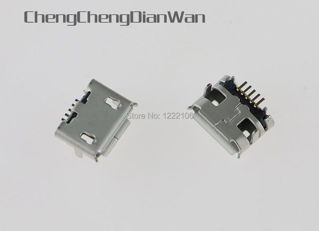 ChengChengDianWan עבור פלייסטיישן PS4 בקר נתונים מיני USB טעינת מטען נמל מטען מחבר שקע חשמל 1000 יחידות