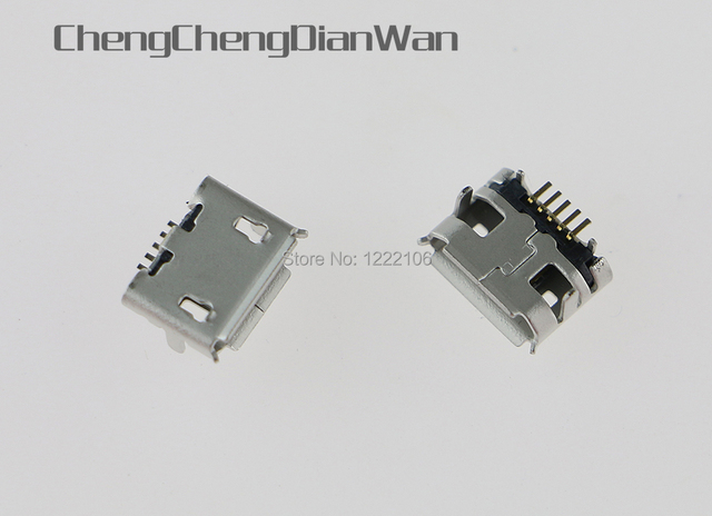 Chengchengdianwan用プレイステーションps4コントローラミニデータusb充電ポート充電充電器電源ソケットコネクタ1000ピース