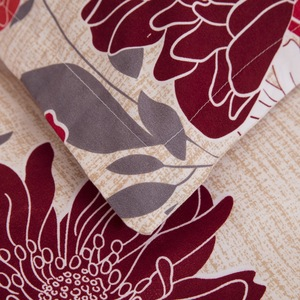 Image 5 - LOVINSUNSHINE 布団カバーキングサイズ布団寝具セット女王プリント花寝具セット AB06 #