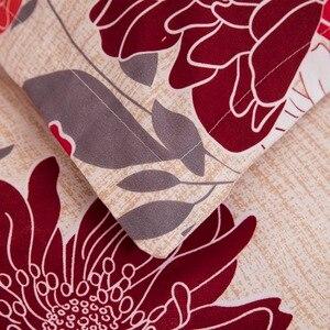 Image 5 - LOVINSUNSHINE שמיכת כיסוי מלך גודל מלכת מצעים קובע שמיכת מודפס פרחי מצעים סט AB06 #