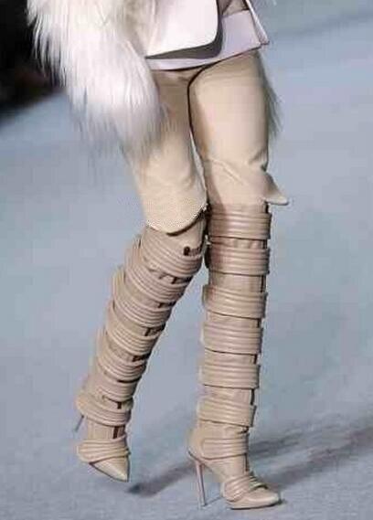 7cd61a98 Venta-caliente-cuero-beige-punta-toe-hebilla-sobre-la-rodilla-Botas -recorte-mujeres-Zapatos-real-phtoto.jpg