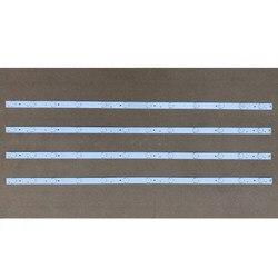 1 zestaw = 4 sztuka podświetlenie LED Bar do włosów 40 cal LE40B3000W 30340012203 LED40D12 ZC1404 1 sztuk = 12led 78 CM w Oświetlenie sceniczne od Lampy i oświetlenie na