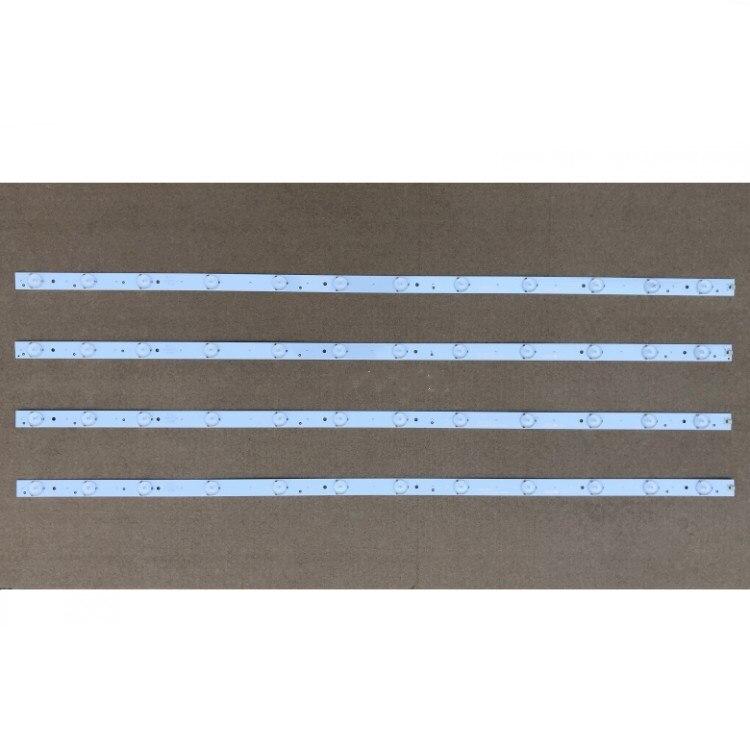 1set=4piece  LED Backlight Bar For Hair 40inch LE40B3000W 30340012203 LED40D12 ZC1404   1pcs=12led  78CM