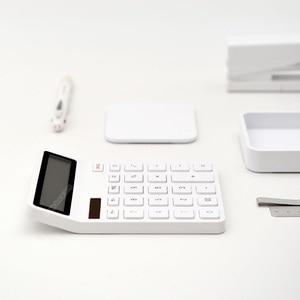 Image 2 - Youpin Kaco ليمو آلة حاسبة شاشة الكريستال السائل ذكي اغلاق وظيفة حاسبة طالب حساب أداة لا بطارية