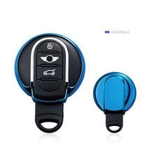 цена на New Car-Styling TPU Case ShellAuto Protective Key Cover For BMW Mini Cooper S JCW R50 R53 F55 F56 F54 R56 R57 R58 R59 R60 R61