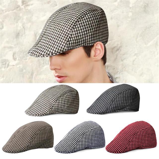 7e78090498b Simple Peaceminusone Outdoor Warm Keeping Pxg Golf Beret Flat Cap Gravity  Falls Duckbill Cap Golf Hat For Men   Women