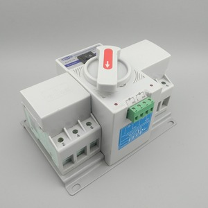 Image 2 - 3P 63A 380V 50/60hz 3 wire MCB type Dual Power Automatic transfer switch ATS