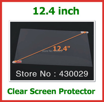 50pcs Universal Ultra Clear LCD Screen Protector 12.4 inch Protective Film for Laptop Notebook PC Computer Size 261x163mm