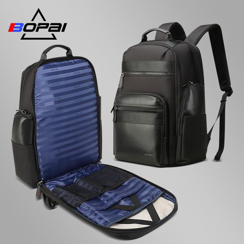 BOPAI Large Travel Backpacks For Men Women Weekend Travelling Bags 15.6-17 Inch Laptop Notebook Backpack With Key Chain Holder