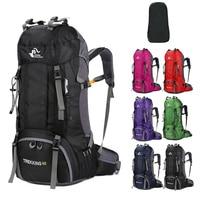 60L Hiking Backpacks Men's Sports Bags Nylon Camp Travel Pack Women Treking Waterproof Outdoor Backpacks Ultra light Bags