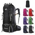 60L Wandelen Rugzakken mannen Sporttassen Nylon Camp Travel Pack Vrouwen Treking Waterdichte Outdoor Rugzakken ultralichte Zakken