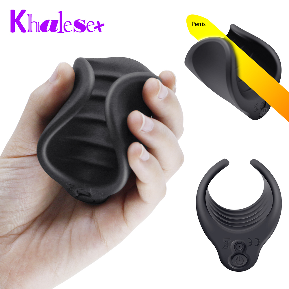 Khalesex Male Masturbator Trainer Delay Ejaculation Stimulate Glans Vibrating Massager 10 Speeds Vibration Sex Toys for MenKhalesex Male Masturbator Trainer Delay Ejaculation Stimulate Glans Vibrating Massager 10 Speeds Vibration Sex Toys for Men