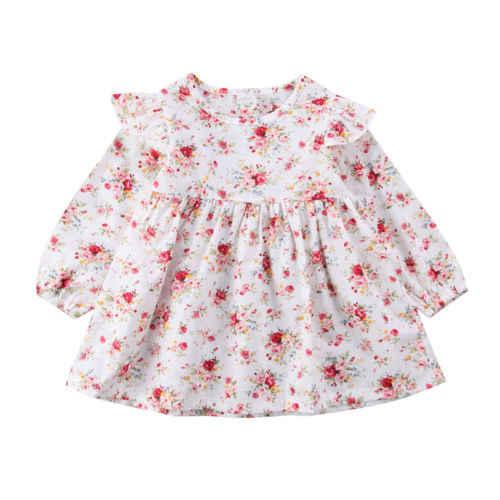 Для малышей для маленьких девочек детская одежда с длинными рукавами комбинезон