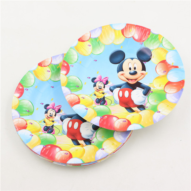 Mickey Mouse Design Plates